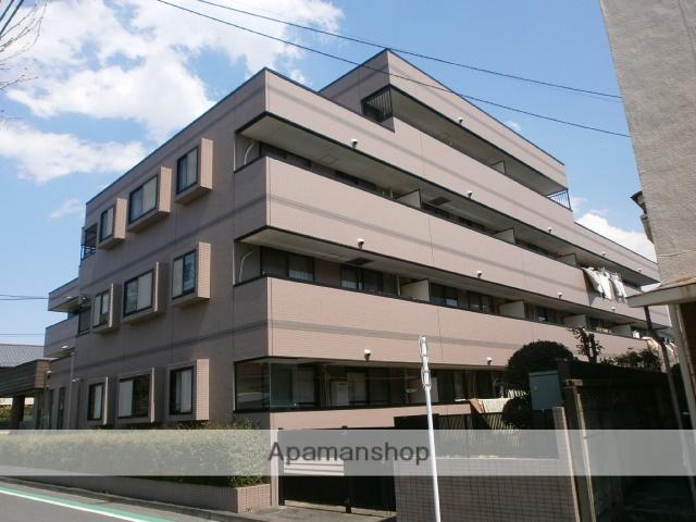 東京都府中市、分倍河原駅徒歩7分の築21年 4階建の賃貸マンション