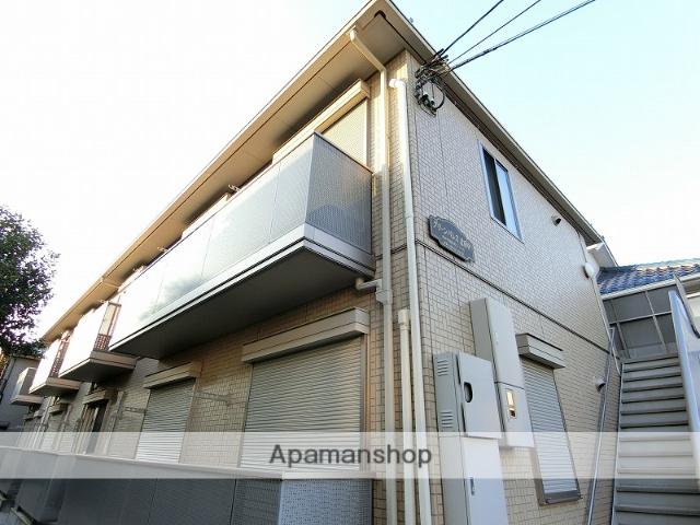 東京都府中市、府中本町駅徒歩25分の築9年 2階建の賃貸アパート