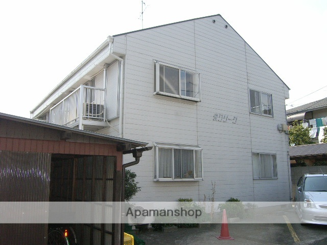 東京都国分寺市、西国立駅徒歩30分の築30年 2階建の賃貸アパート