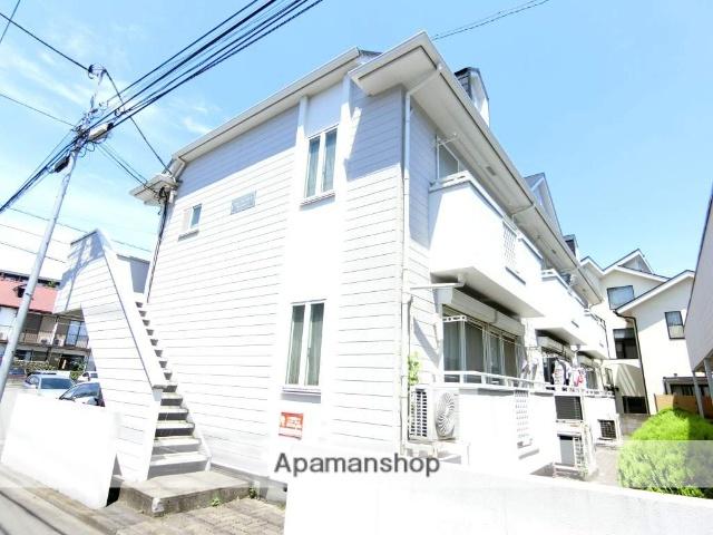 東京都府中市、白糸台駅徒歩3分の築24年 2階建の賃貸アパート