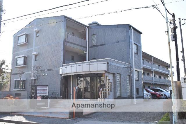 東京都国分寺市、国立駅徒歩27分の築22年 3階建の賃貸マンション