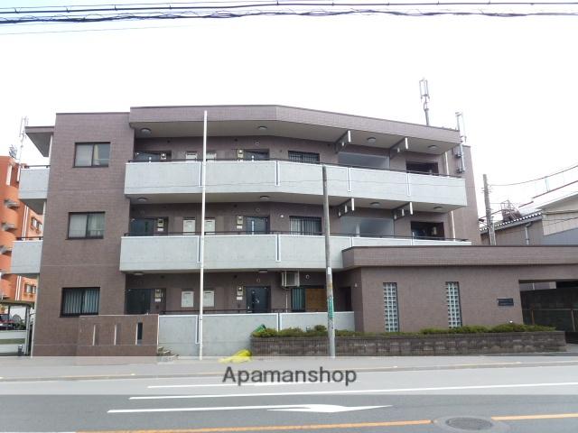 東京都国分寺市、国立駅徒歩16分の築22年 3階建の賃貸マンション