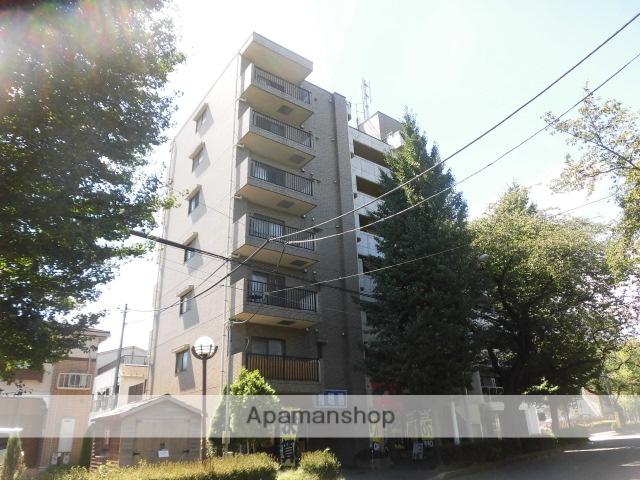 東京都国立市、谷保駅徒歩18分の築19年 7階建の賃貸マンション