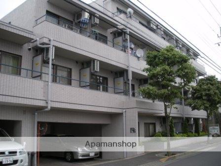東京都府中市、多磨霊園駅徒歩19分の築30年 4階建の賃貸マンション