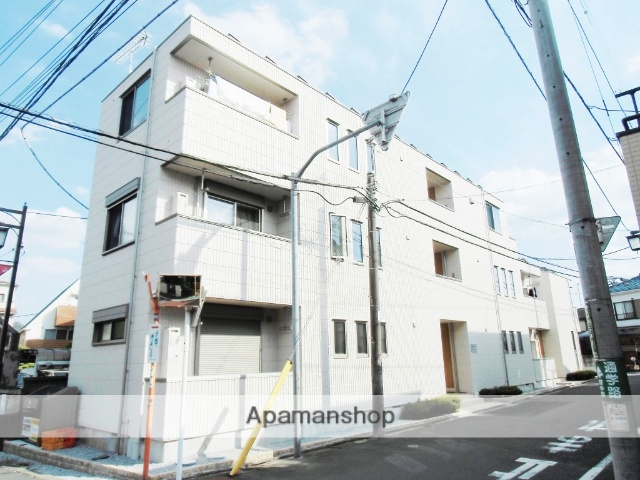 東京都府中市、多磨霊園駅徒歩11分の築2年 3階建の賃貸アパート