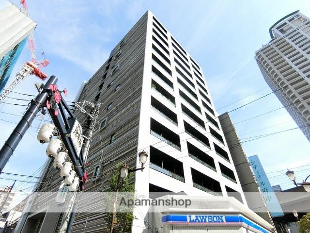 東京都府中市、府中本町駅徒歩14分の築1年 13階建の賃貸マンション