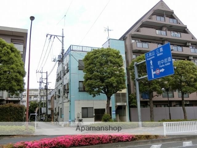 東京都府中市、谷保駅徒歩24分の築23年 3階建の賃貸マンション