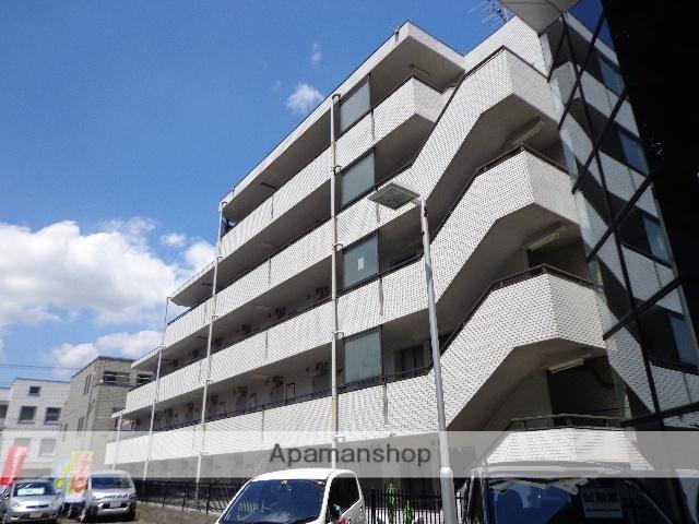 東京都府中市、白糸台駅徒歩18分の築33年 5階建の賃貸マンション