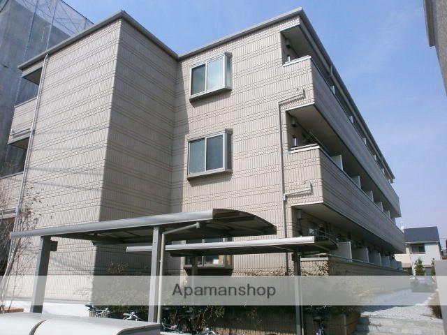東京都府中市、分倍河原駅徒歩16分の築6年 3階建の賃貸アパート
