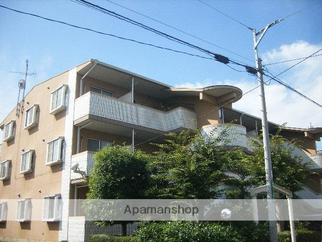 東京都国分寺市、国立駅徒歩21分の築26年 3階建の賃貸マンション