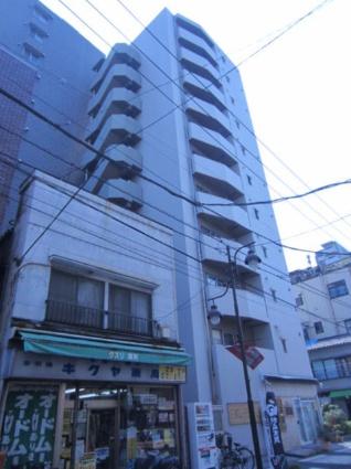 東京都台東区、浅草駅徒歩6分の築8年 11階建の賃貸マンション