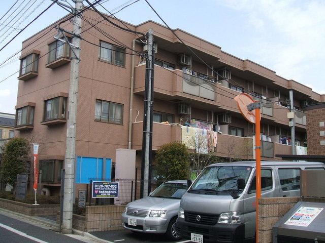 東京都練馬区、地下鉄赤塚駅徒歩18分の築17年 3階建の賃貸マンション