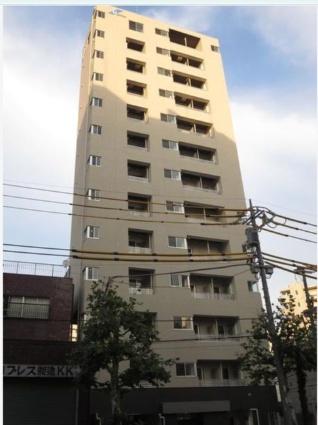 東京都北区、新三河島駅徒歩9分の築2年 13階建の賃貸マンション