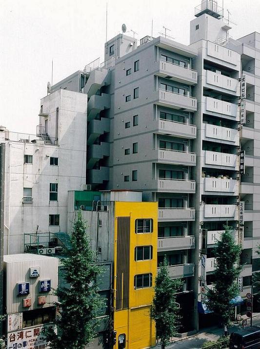 東京都台東区、浅草橋駅徒歩10分の築19年 10階建の賃貸マンション