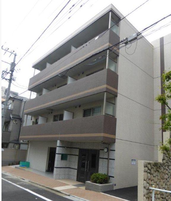 東京都板橋区、下板橋駅徒歩15分の築2年 4階建の賃貸マンション