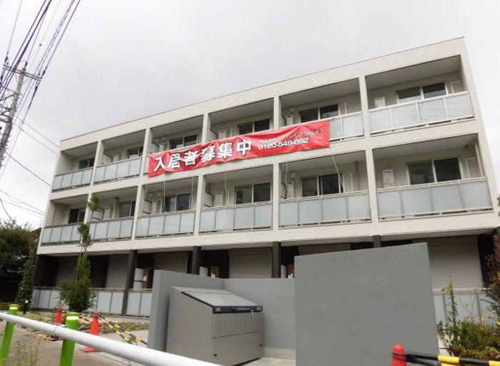 東京都板橋区、板橋本町駅徒歩16分の築1年 3階建の賃貸アパート
