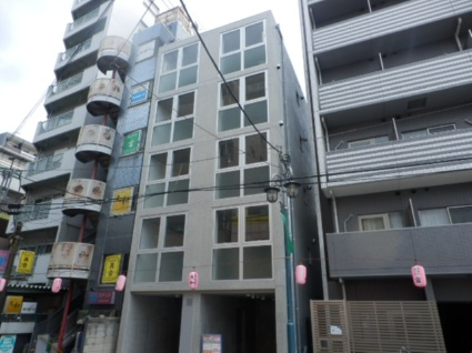 東京都板橋区、中板橋駅徒歩14分の新築 5階建の賃貸マンション