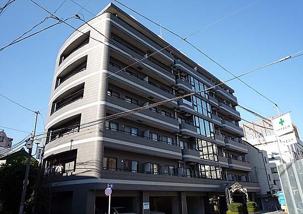 東京都北区、王子駅徒歩8分の築25年 7階建の賃貸マンション