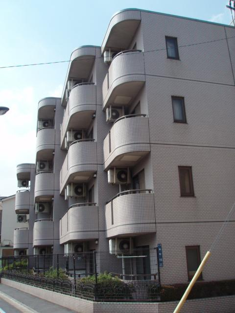東京都北区、王子駅徒歩10分の築25年 4階建の賃貸マンション