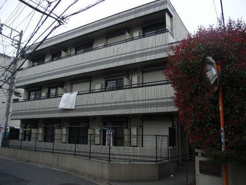 東京都北区、尾久駅徒歩13分の築20年 3階建の賃貸マンション