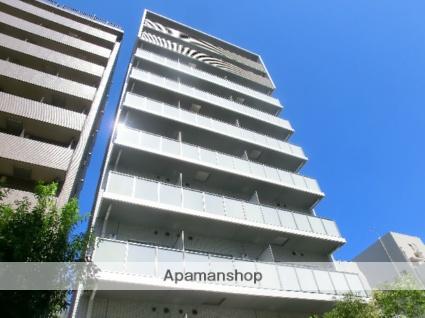 東京都港区、田町駅徒歩12分の築2年 10階建の賃貸マンション