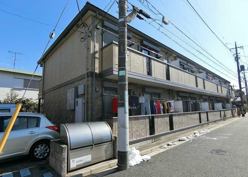 東京都練馬区、練馬高野台駅徒歩16分の築9年 2階建の賃貸アパート