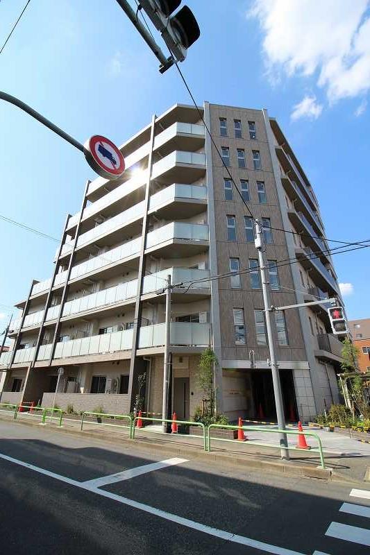 東京都練馬区、中村橋駅徒歩11分の新築 7階建の賃貸マンション