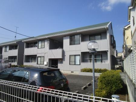 東京都練馬区、練馬高野台駅徒歩14分の築26年 2階建の賃貸アパート