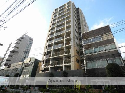 東京都新宿区、神楽坂駅徒歩8分の築5年 13階建の賃貸マンション