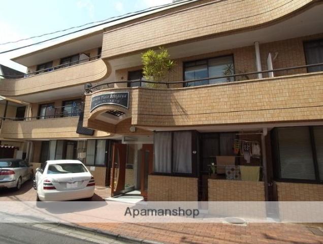 東京都新宿区、四谷三丁目駅徒歩12分の築32年 3階建の賃貸マンション