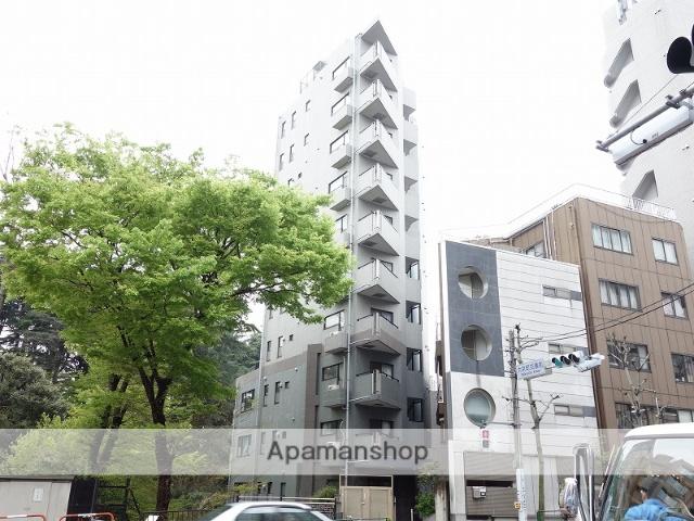 東京都新宿区、千駄ケ谷駅徒歩8分の築19年 11階建の賃貸マンション