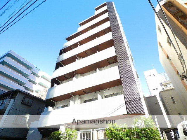 東京都新宿区、神楽坂駅徒歩9分の築1年 8階建の賃貸マンション