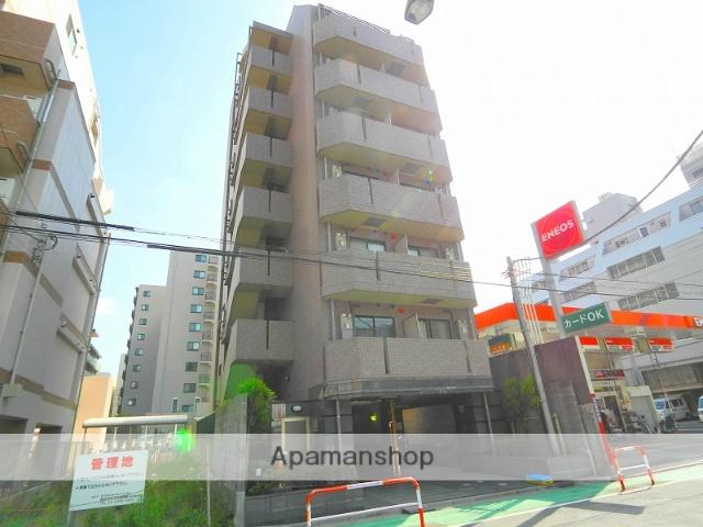 東京都新宿区、神楽坂駅徒歩7分の築16年 8階建の賃貸マンション