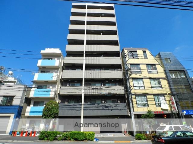 東京都新宿区、神楽坂駅徒歩6分の築2年 10階建の賃貸マンション