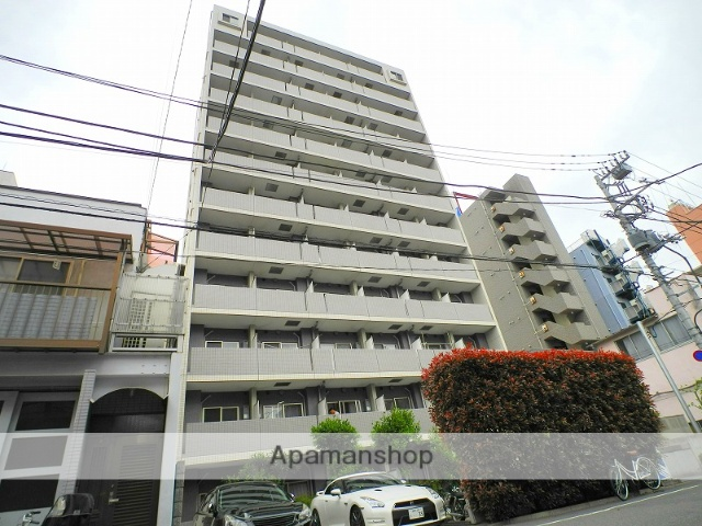 東京都新宿区、早稲田駅徒歩5分の築10年 12階建の賃貸マンション