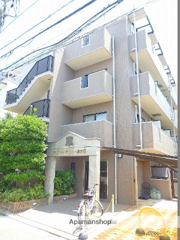 東京都新宿区、神楽坂駅徒歩6分の築19年 4階建の賃貸マンション