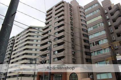 東京都新宿区、若松河田駅徒歩10分の築25年 15階建の賃貸マンション