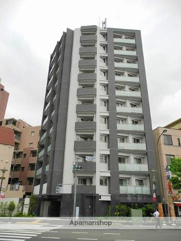 東京都新宿区、早稲田駅徒歩7分の築1年 11階建の賃貸マンション
