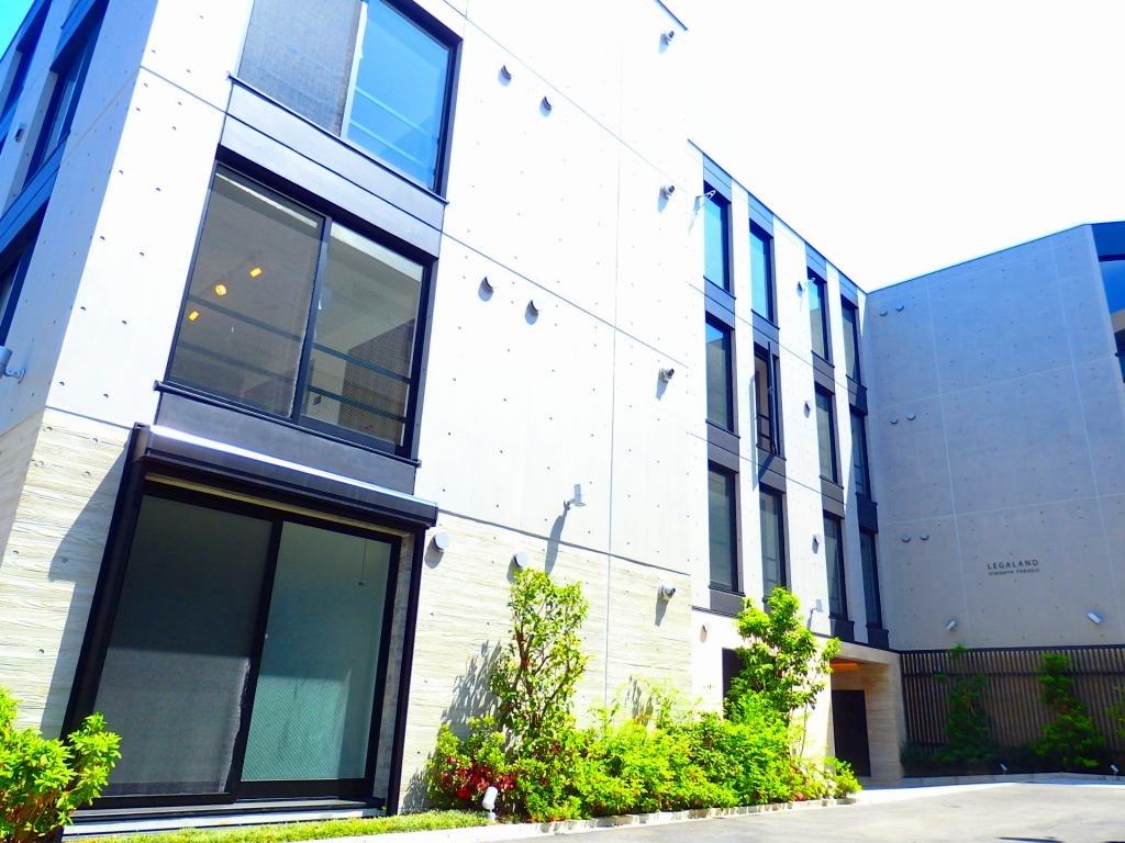 東京都新宿区、若松河田駅徒歩9分の新築 4階建の賃貸マンション