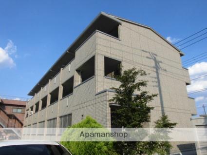 埼玉県所沢市、東所沢駅徒歩6分の築7年 3階建の賃貸アパート
