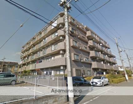 埼玉県所沢市、東所沢駅徒歩6分の築18年 5階建の賃貸マンション