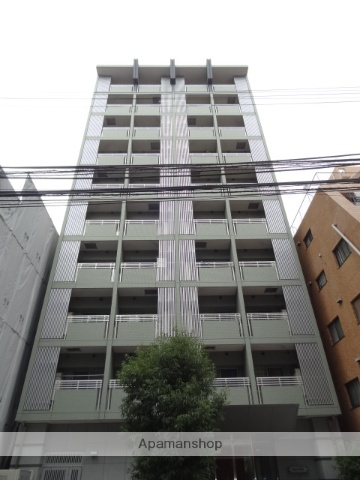 東京都港区、浜松町駅徒歩9分の築9年 10階建の賃貸マンション