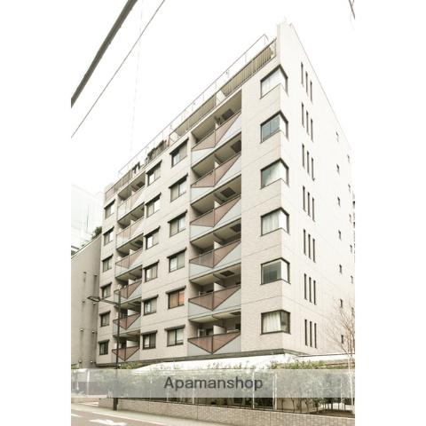 東京都港区、田町駅徒歩6分の築19年 9階建の賃貸マンション