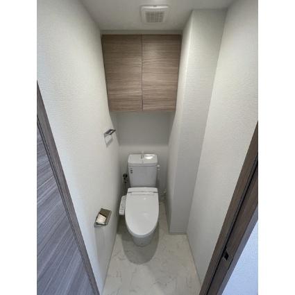 プレール・ドゥーク品川南大井[1K/22.73m2]のトイレ