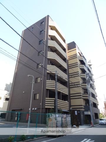 東京都港区、田町駅徒歩8分の築2年 8階建の賃貸マンション