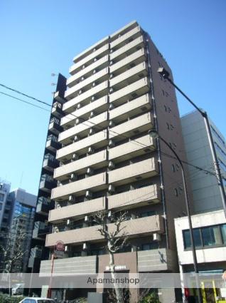 東京都港区、浜松町駅徒歩8分の築13年 13階建の賃貸マンション
