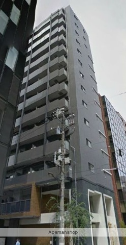 東京都港区、新橋駅徒歩9分の築3年 14階建の賃貸マンション