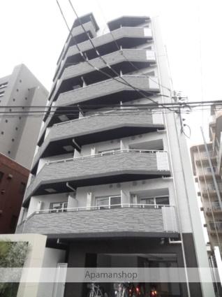 東京都港区、広尾駅徒歩13分の築3年 9階建の賃貸マンション