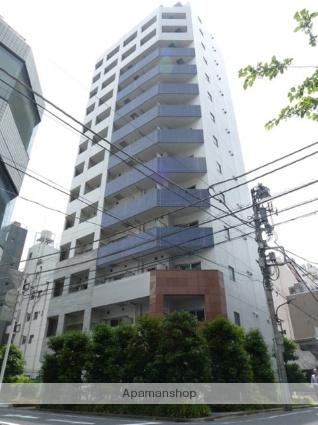 東京都港区、虎ノ門駅徒歩6分の築9年 14階建の賃貸マンション