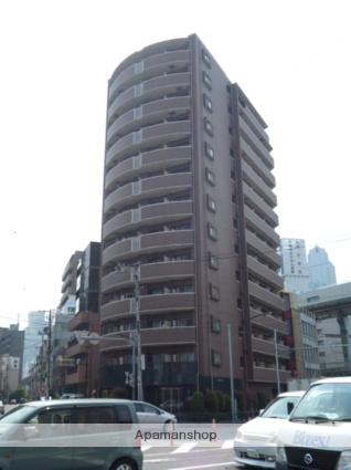 東京都港区、田町駅徒歩10分の築13年 13階建の賃貸マンション